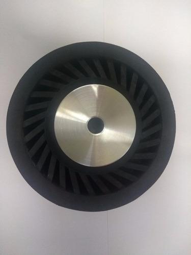 roda exp 140x25 + 2 trizact a6, 2 a30, 3 120 normal e along