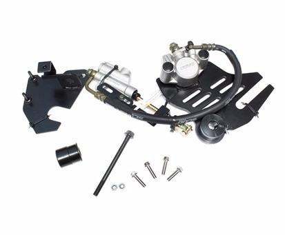 roda liga freio disco traseiro cg 150 + par pneu mt 65