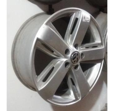 roda liga leve aro 19´ vw amarok highline s/ pneus
