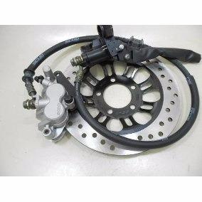 roda liga leve+ freio disco traseiro e dianteiro cg150 titan
