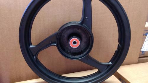 roda liga leve traseira 3 palitos biz 100 + rolamentos