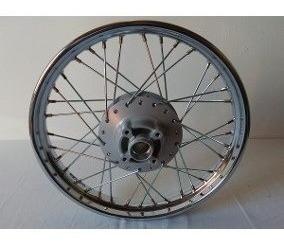 roda montada moto fan 125 2009-14 traseira