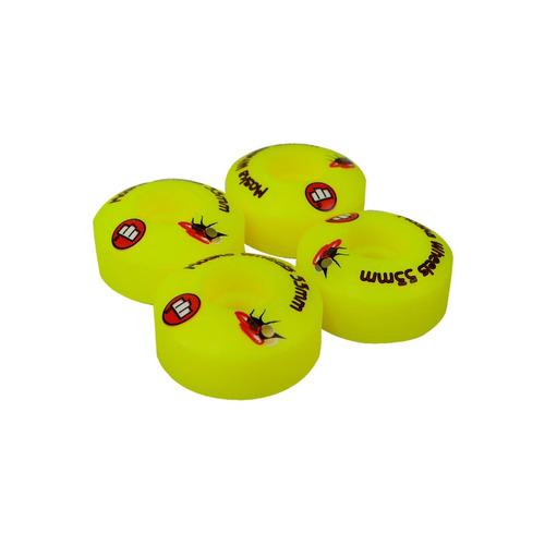 roda moska 53mm amarela