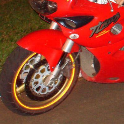 roda moto friso