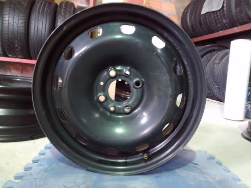 roda original ferro fiat punto aro 15 uno palio siena 4x98