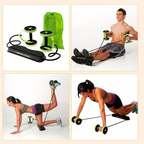 roda p/exercício abdominal revoflex xtreme exercise whell
