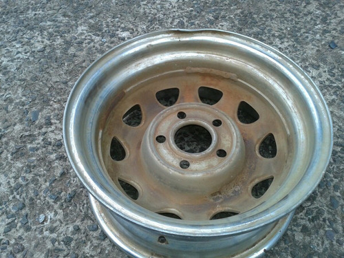 roda rally original dodge dart  sedan 4 pts 5 furos aro 14