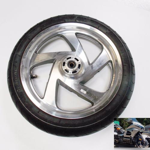 roda sem pneu diant original honda gl 1800 gold wing