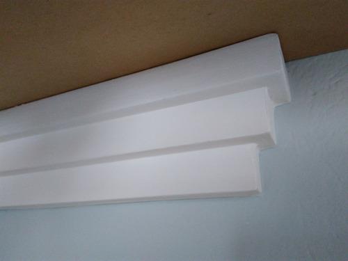roda teto moldura isopor r4(rodateto de isopor liso)