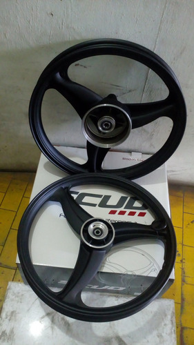 roda titan125 liga leve disco 2000 2008 3 pontas preta