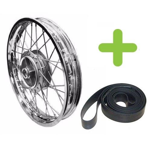 roda traseira 18 x 1.85 (s/bucha) fan 125 09/12 gmx