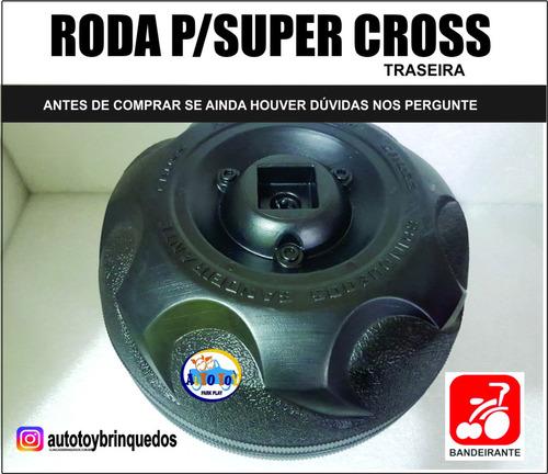 roda traseira atv160/35zr6 73w p/supercross 6v bandeirante