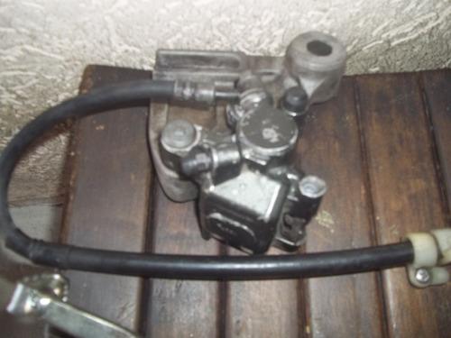roda traseira e sistema de freio moto xre e tornado