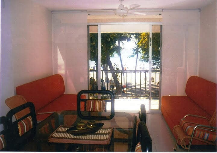 rodadero apartamentos con vista al mar 2 piso 11 personas