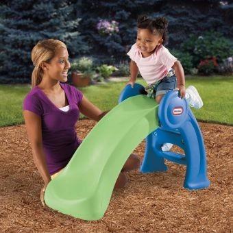 rodadero o deslizadero para niños little tikes