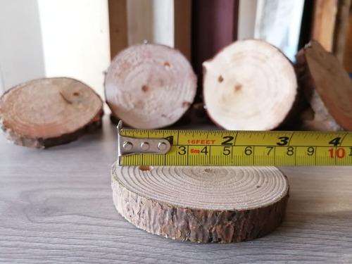 rodajas de madera de pino 30 unidades