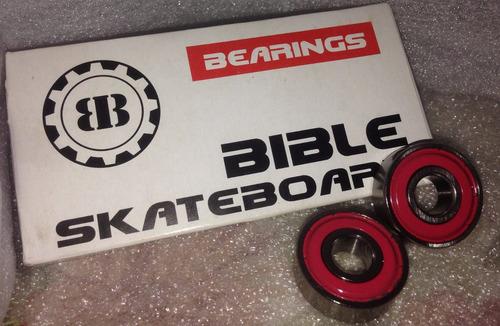 rodajes para skate, longboard marca bible abec 7 importado