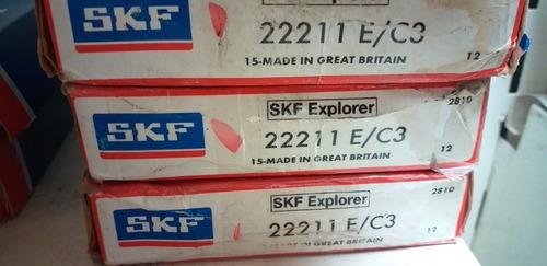 rodamiento 22211 e/c3 skf