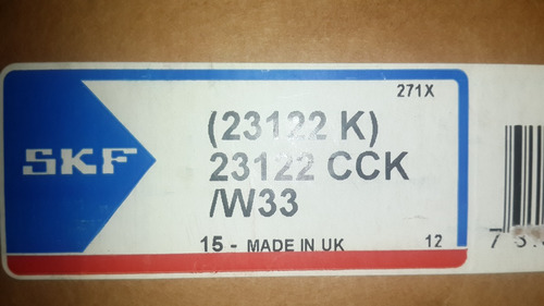 rodamiento 23122 cck/w33     skf