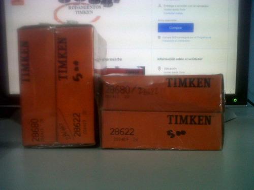 rodamiento (28680 / 28622) timken original mejor precio