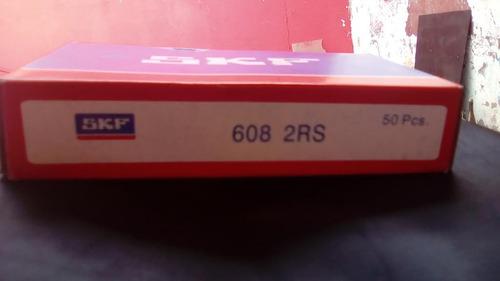 rodamiento 608 2rs para alternador marca skf (nuevos)