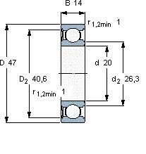 rodamiento 6204 usado usado usado precio publicado