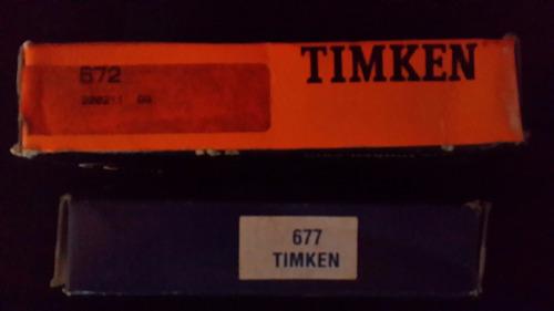 rodamiento 677/672 timkem
