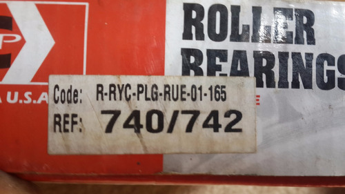 rodamiento  740/742  roller  usa