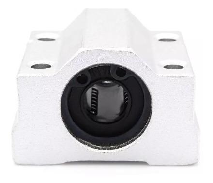 rodamiento lineal scs8uu lm8uu 8mm con soporte impresora 3d