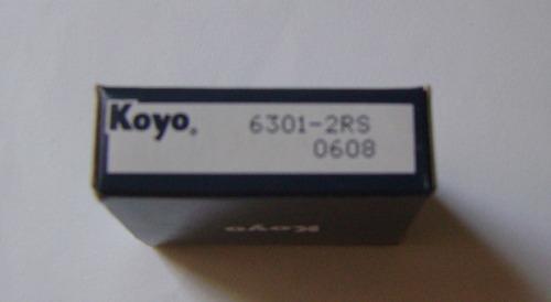 rodamiento o rolinera 6301 2rs koyo 6 pzas