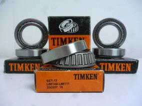 Rodamiento Rolinera Delantero Spark Matiz Set 17 Timken