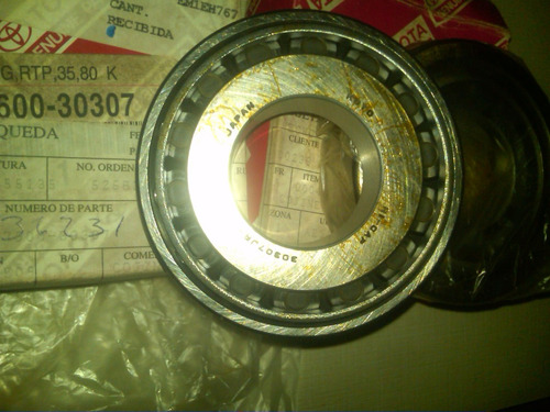 rodamiento rolinera eje tranfer 35x80 toyota 2f-3f original