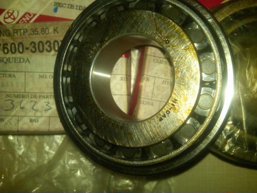 rodamiento rolinera eje tranfer trasero 35x80 toyota 2f-3f