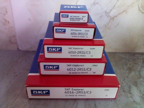 rodamiento rolinera skf 6303 2rs/c3 al mejor precio en stock