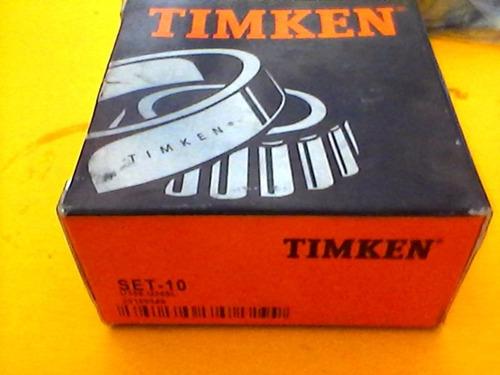 rodamiento set-10 marca timken