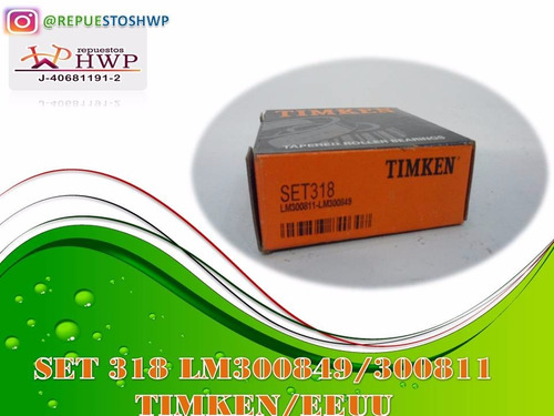 rodamiento set 318 (lm300849 / lm300811)
