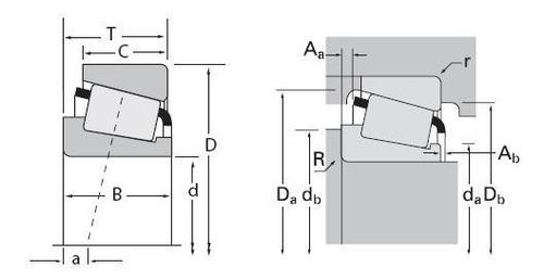 rodamiento x33108/y33108 timken