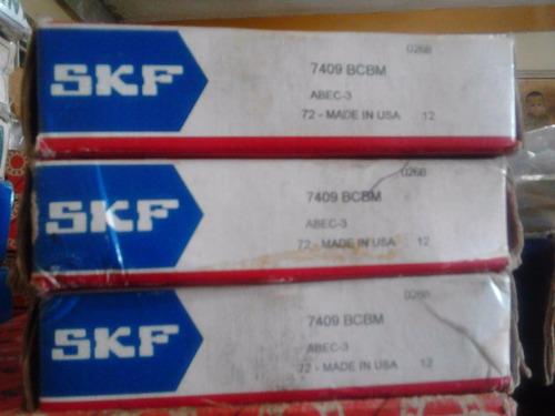 rodamientos 7409 jaula de bronce skf oferta