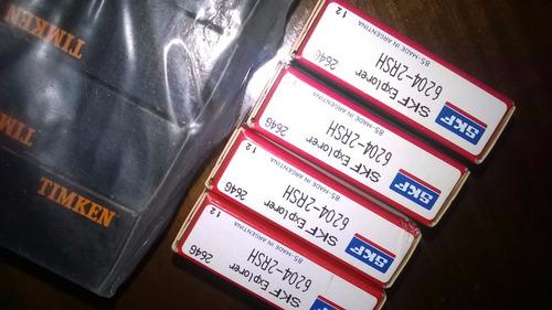 rodamientos skf  6204 2rs x 10 - 6203 2rs x 10