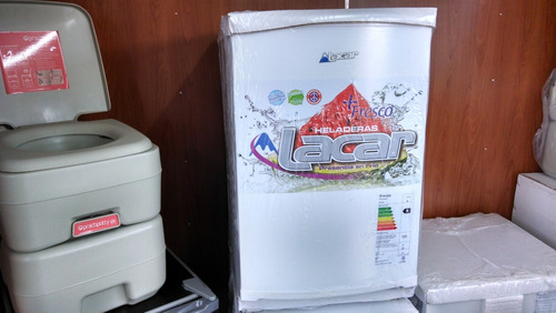 rodantes brandsen heladera lacar 80 lts c/ congelador20wolt