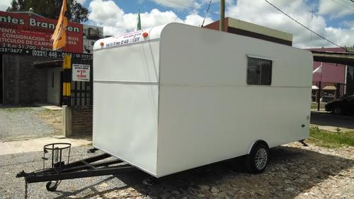 rodantes brandsen trailers gastronomico 1 eje 4,50 .