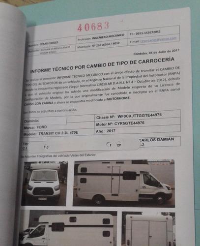 rodantes nsm. linea campers, modelos homologados.