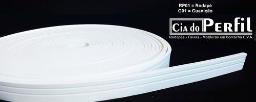 rodapé eva flexível ou guarnição 5cm x 1cm (preço p/ metro )