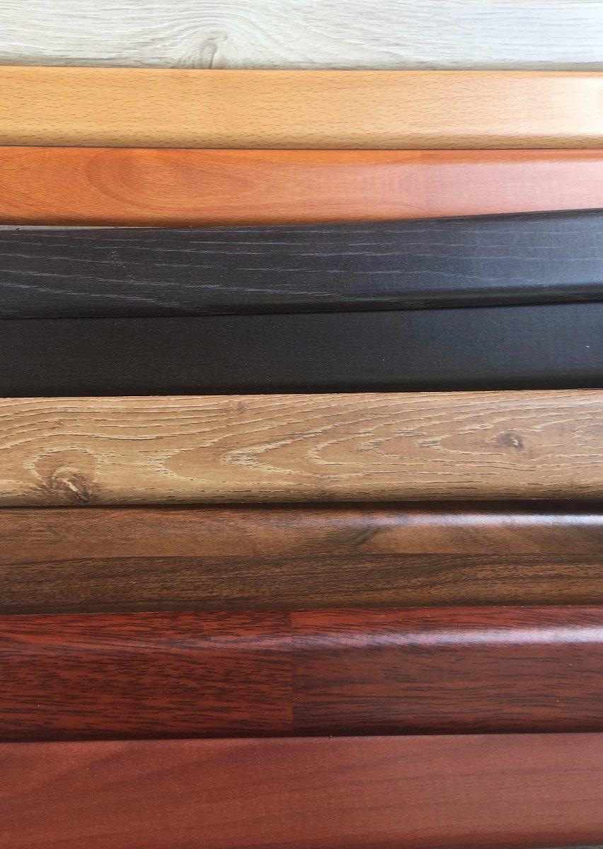 Rodapies de madera piso laminado vinil porcelanato - Rodapie de madera ...