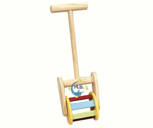 rodari arrastre sonajero rodante madera didáctico niños