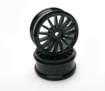 rodas 15 spoke para drx preta - automodelismo