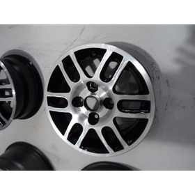 Rodas Aro 13 Diamantada Furação Ford 4 Furos    Zn De Sp