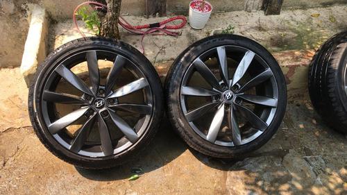 rodas aro 18 com pneus