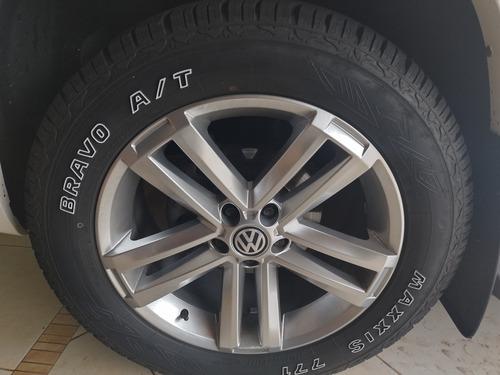 rodas aro 20 pneus novos está na amarok