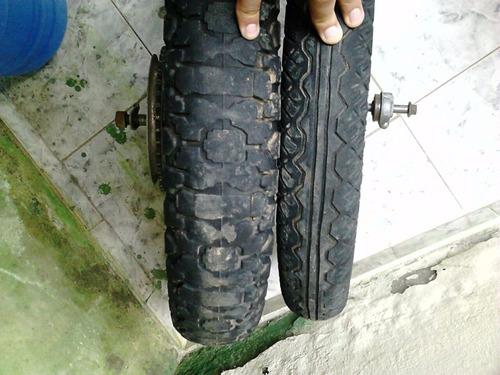 rodas honda cbx strada 200 originais com pneus freios coroa
